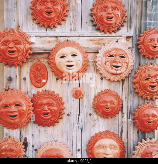 Ceramic Suns - Stock Image