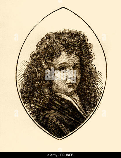 Thomas Patrick Betterton - English actor. - Stock Image