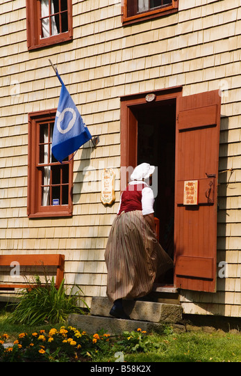 Cossit House Museum dating from 1878), Town of Sidney, Cape Breton Island, Nova Scotia, Canada, North America - Stock Image