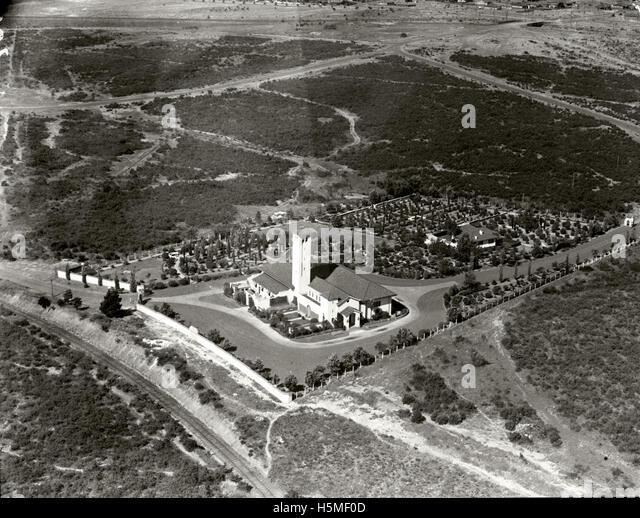 Crematorium - 1938 - Stock Image