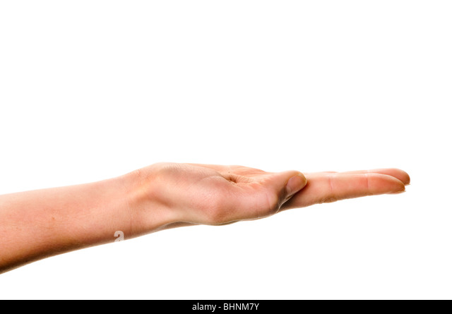single hand - Stock Image