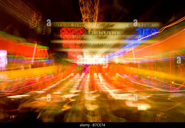Casino sign, downtown Las Vegas, Nevada, USA - Stock Image