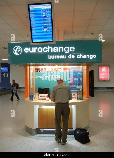 money exchange airport stock photos money exchange. Black Bedroom Furniture Sets. Home Design Ideas
