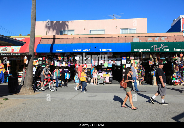 Ocean Front Walk, Venice Beach, Los Angeles, California, United States of America, North America - Stock-Bilder