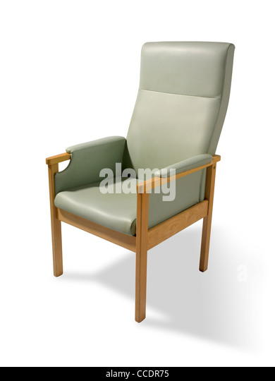 Elderly persons chair - Stock Image