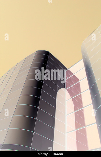 Modern architecture - Stock Image