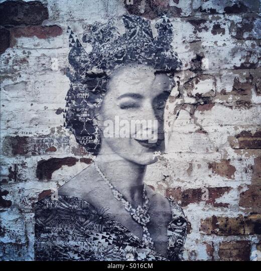 Graffiti Queen - Stock-Bilder