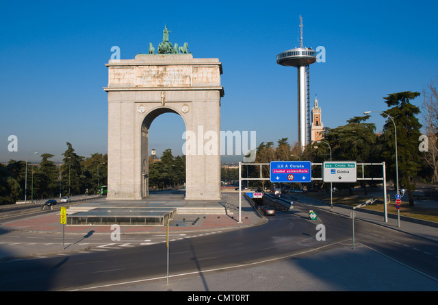 Victory arch stock photos victory arch stock images alamy for Puerta la victoria