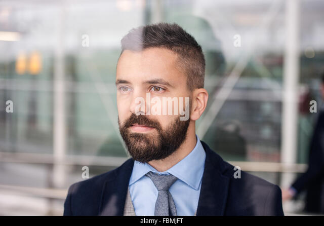 Handsome young man - Stock Image