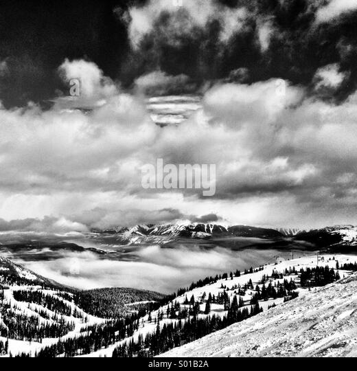 Snowscape - Stock Image