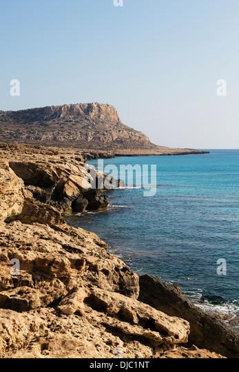 Cape Grecko, Cyprus - Stock Image