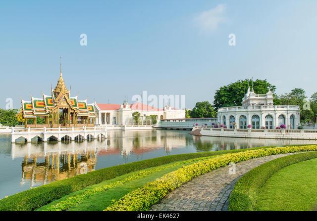 Bang Pa-In Royal Palace, Ayutthaya, Thailand - Stock Image