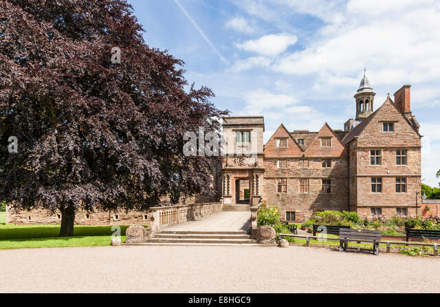 Rufford Abbey, Rufford Country Park, Nottinghamshire, England, UK - Stock Image