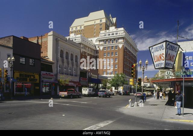 Downtown el paso texas usa stock photos downtown el paso for El paso america