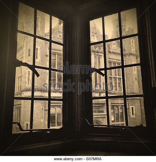 Old window - Stock Image