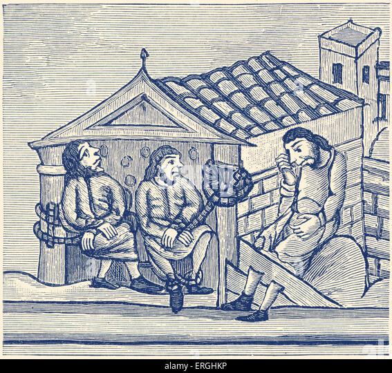 Contemporary Normandie 945: Medieval Punishment Stock Photos & Medieval Punishment