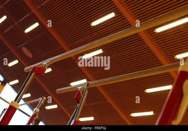 Gymnastic equipments - Stock-Bilder