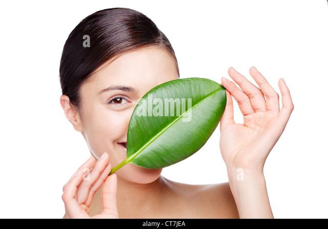 organic skincare - Stock Image