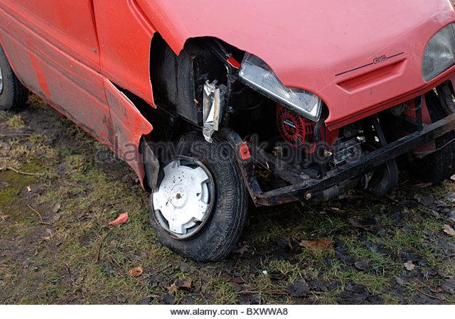 Amsterdam - accident involving a Canta car - Stock Image