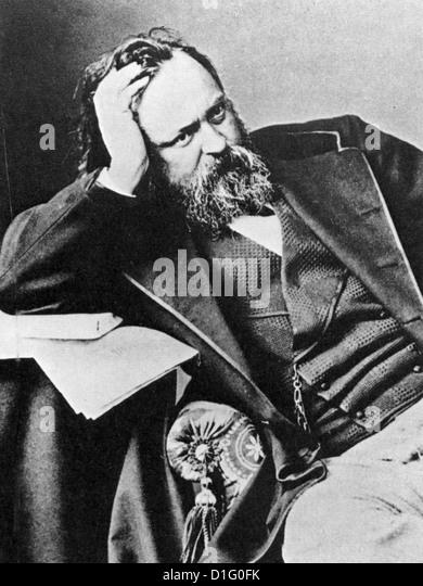 ALEXANDER HERZEN (11812-1870)  Russian political theorist - Stock Image