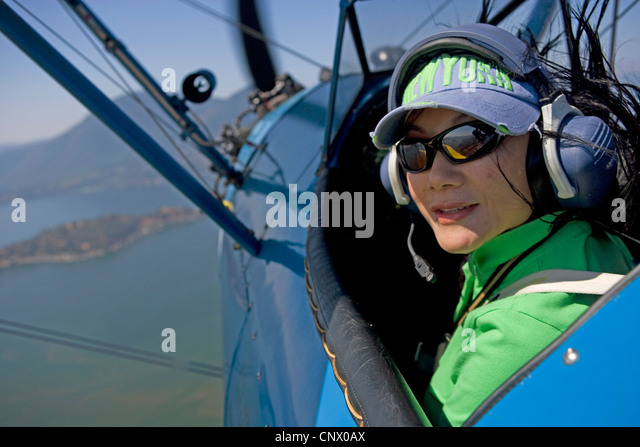 aerial above - Stock Image