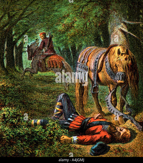 Death Of William The Second 1100 c1850  - Stock Image