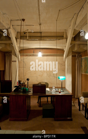 Cabinet war rooms bunker stock photos cabinet war rooms bunker stock images alamy - Churchill war cabinet rooms ...