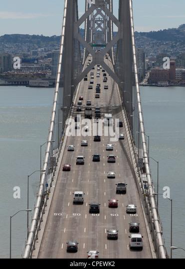 San Francisco Bay Bridge - Stock Image