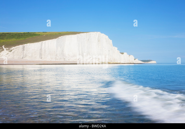 Seven Sisters; East Sussex; England, Great Britain - Stock-Bilder