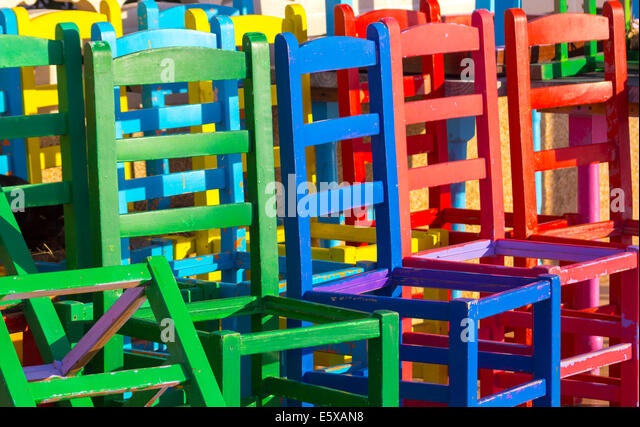 Many different chairs stock photos many different chairs for Different color chairs