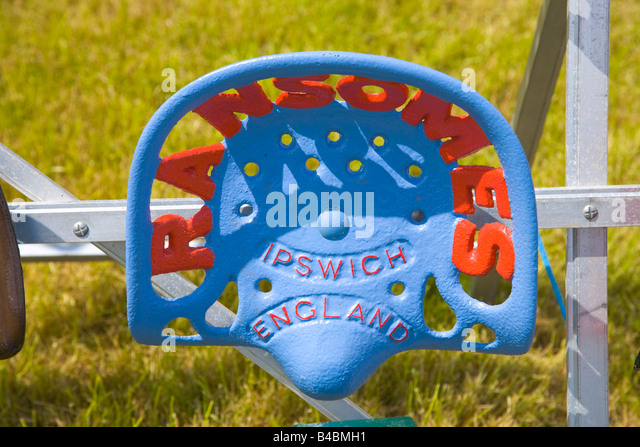 Ransom Mower Seats : Tractor seat stock photos images alamy