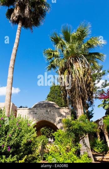 Ayia Napa Monastery, Cyprus - Stock Image