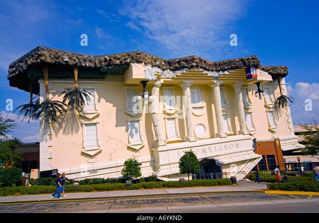 Wonderworks International Drive Orlando Florida USA JMH1258 - Stock Image