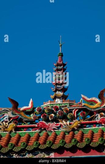 Asia, Taiwan, Taipei, temple Longshan - Stock Image