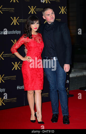 London UK 14th Nov 2013 : Roxanne Pallett attends the launch party for the Kardashian Kollection for Lipsy at Natural - Stock Image