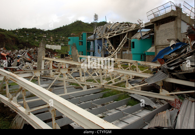 The destruction caused by hurricane georges