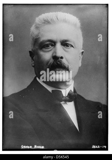 [Italian Premier, Vittorio Orlando] (LOC) - Stock Image