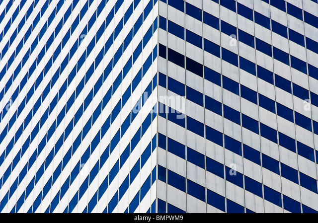The Citicorp Center, detail, New York City. - Stock Image