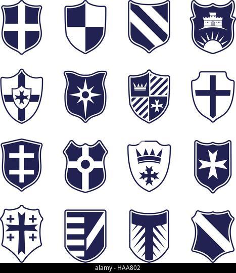 Heraldic Shields Stock Photos Amp Heraldic Shields Stock