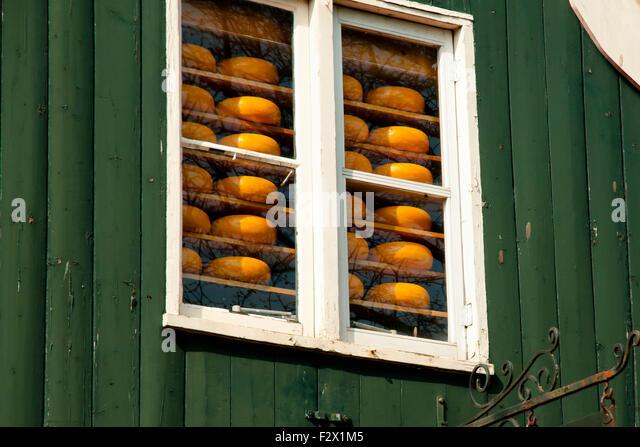 Edam Cheese - Edam - Netherlands - Stock Image