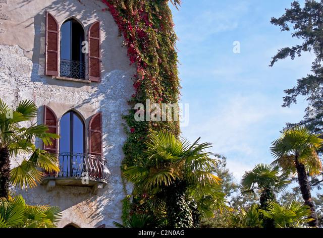Castello Ascona - Ticino - Stock-Bilder