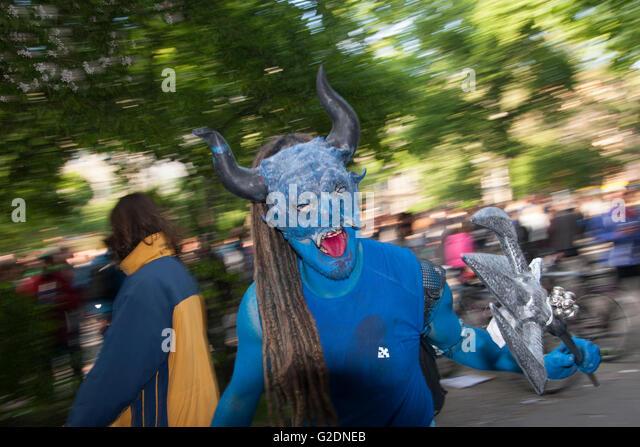 Carnival of Cultures. Berlin, Germany. - Stock-Bilder