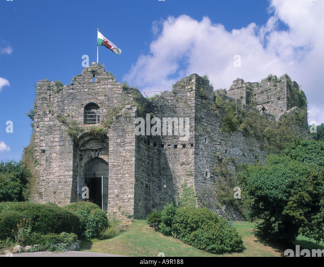 Oystermouth Castle Gower Wales Stock Photos & Oystermouth ...