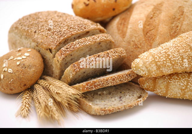 Assorted bread - Stock Image