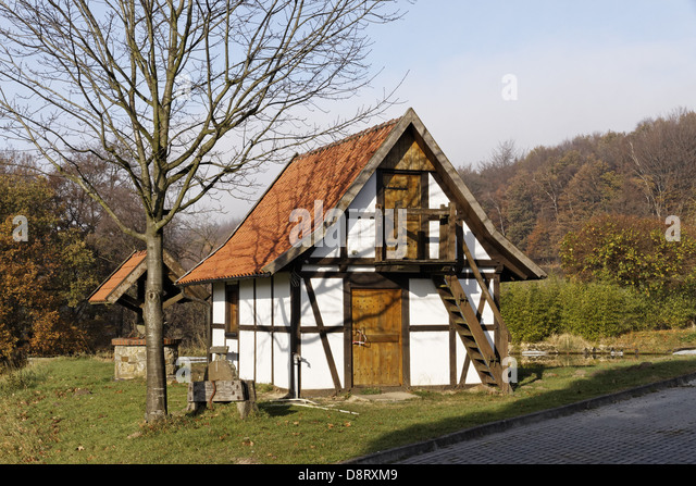 little house germany stock photos little house germany stock images alamy. Black Bedroom Furniture Sets. Home Design Ideas