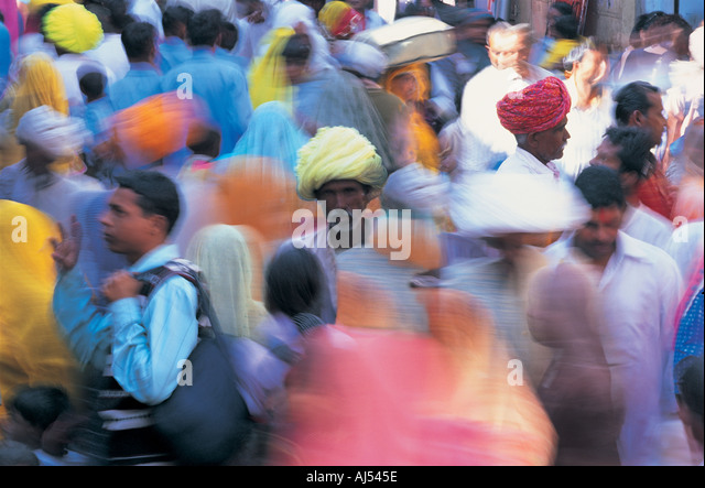 Pushkar Rajasthan India - Stock-Bilder