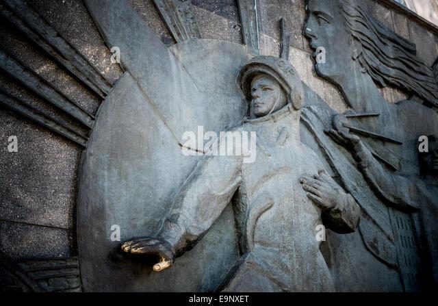 Yuri Gagarin Monument Stock Photos & Yuri Gagarin Monument ...