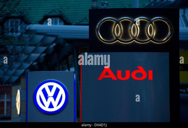 Audi Sign Stock Photos Amp Audi Sign Stock Images Alamy
