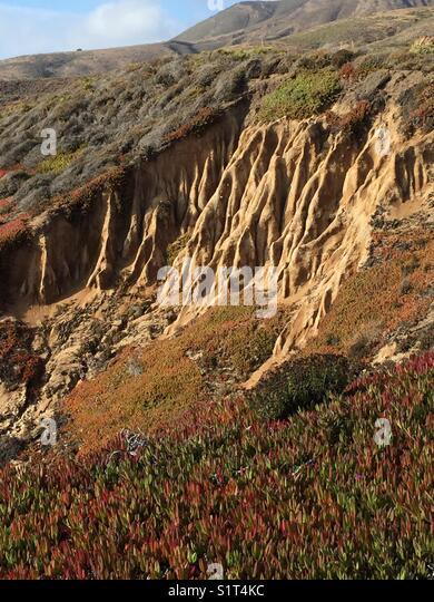 Big Sue Coastline - Stock Image