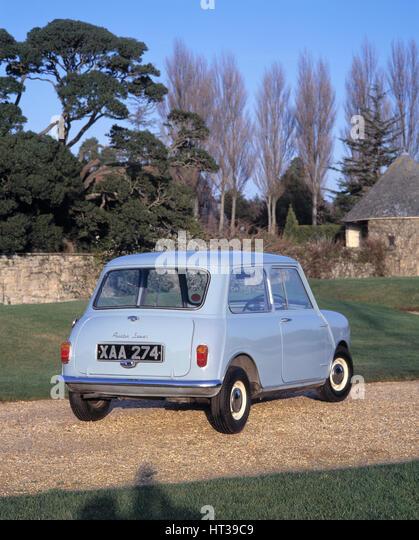 1959 Austin Seven Mini. Artist: Unknown. - Stock Image